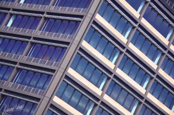 Urban Landscape leaning building 1